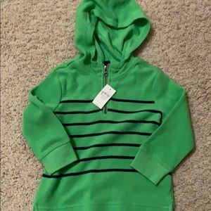 NWT long sleeve tee with hoodie